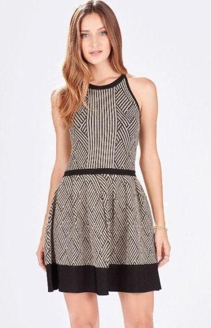 Parker Candice Knit Dress NWT   398   SZ S   C008