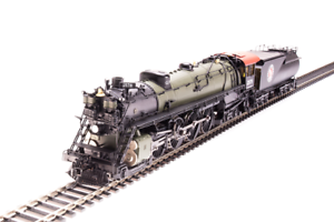BROADWAY LIMITED 5640 HO Great Northern S-2 4-8-4 2575  Paragon3 Sound DC DCC