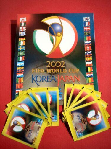 PANINI WM 2002-10 SACCHETTI ALBUM VUOTO album Top-World Cup 02 OVP Giappone Corea