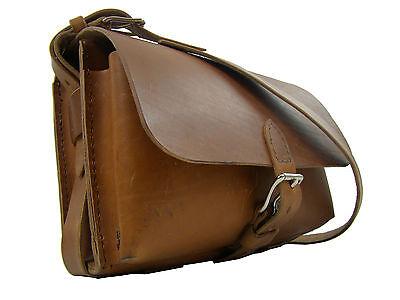 Aufrichtig 4490 Schnittmuster Ledertasche Sattlerarbeit Lehrertasche Handnähen Leder Tasche