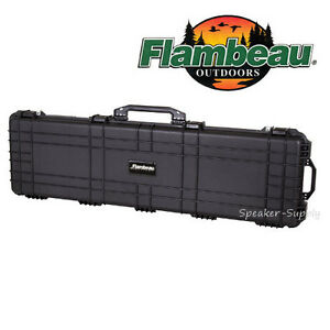 flambeau hard padded extra large gun case rifle shotgun lockable hd xl 5213hd ebay. Black Bedroom Furniture Sets. Home Design Ideas