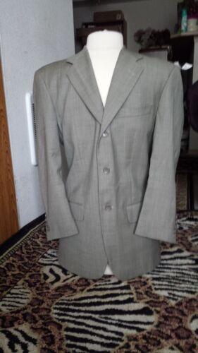 Vintage men Cianni suit Gray Suit Size 38 S