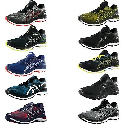 ASICS MENS GEL NIMBUS 20 T800N RUNNING SHOES | eBay