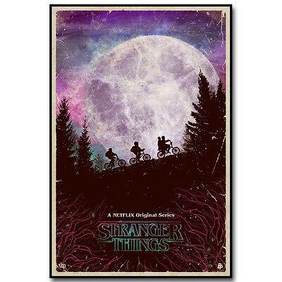 Stranger Things TV Series Silk Poster Print 12x18 20x30 inch