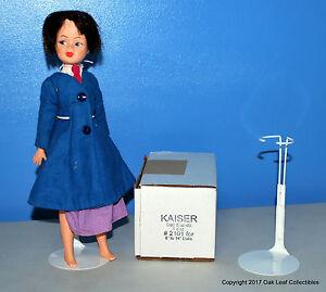 """Kaiser Doll Stands One Dozen 2101 8-14"""" dolls Cushion Coated Wires Ken"""