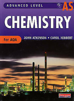 (Good)-AS Level Chemistry for AQA Student Book (Advanced Level Chemistry for AQA