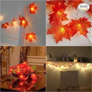20-LED-Fall-Maple-Leaf-Fairy-Light-String-Autumn-Leaf-Lamp-Garland-Xmas-Wedding