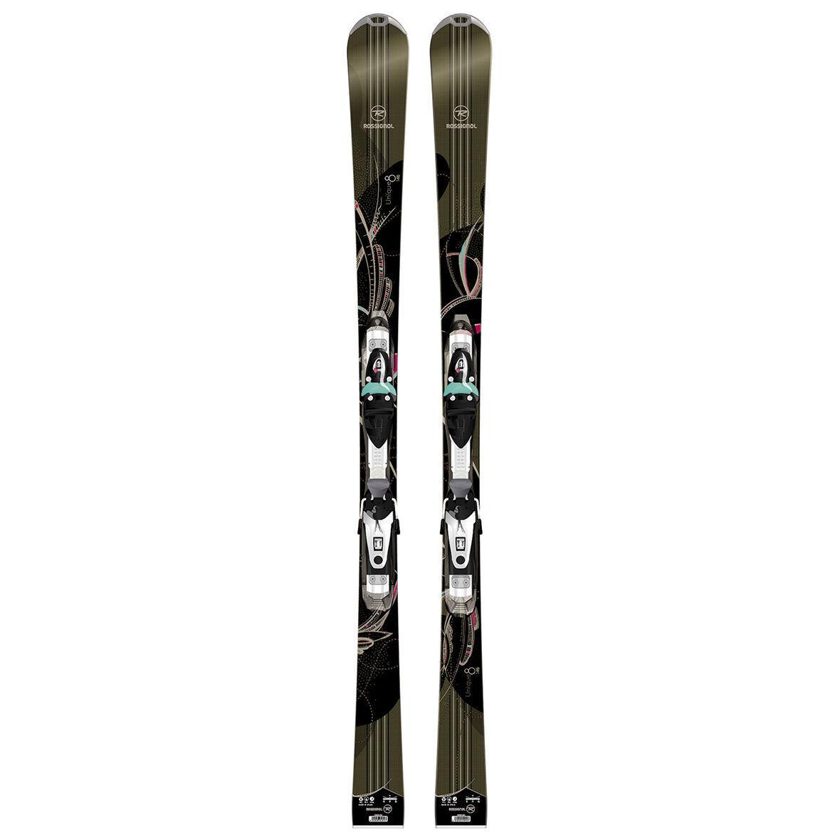 Rossignol Unique 8 Skis +  Saphir 110 Tpi2 Binding