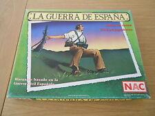 juego de mesa - La Guerra de España - NAC 1987 - Serie Wargames