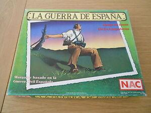 Juego De Mesa La Guerra De Espana Nac 1987 Serie Wargames Ebay