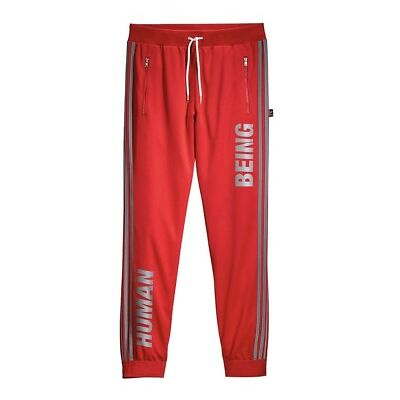 BNWT ADIDAS X PHARRELL WILLIAMS HUMAN RACE Scarlet TRACK PANT SIZE Large
