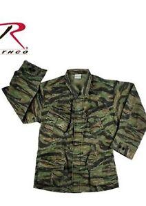 Ee-uu-Ejercito-M64-Chaqueta-de-Campo-Authentic-Vietnam-Fatiga-Ripstop-Tigre-3XL