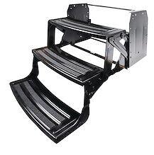 "Lci Lippert Triple 3 Steps 7"" Rise Folding RV Camper Radius Style 24"" 177439"