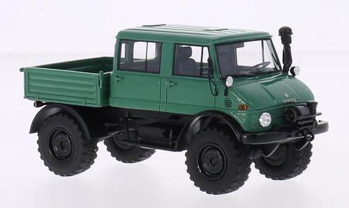 MERCEDES Unimog u416 DOUBLE CABIN verde 1 43 MODEL NEO Scale Models