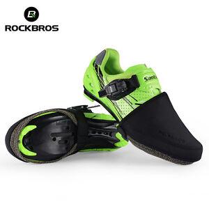 ROCKBROS-Cycling-Shoe-Cover-Windproof-Half-Overshoe-Bike-Shoe-Cover-Black
