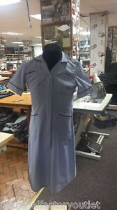 Healthcare Dental Medical 1938 New Ladies Light Blue Pinstripe Healthcare Dress