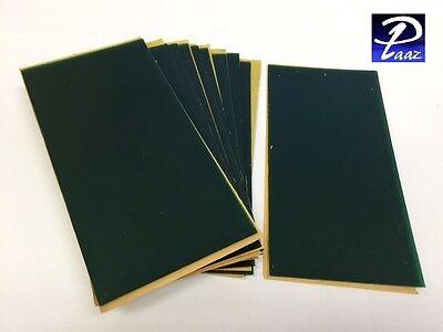 """Flexible Wax Sheet Green 3"""" x 6"""" GA20 0.032""""/.8mm Box of 24"""