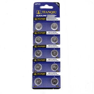 10Pcs-AG13-LR44-SR44-L1154-357-A76-Quality-Alkaline-Button-Coin-Cells-Batteries