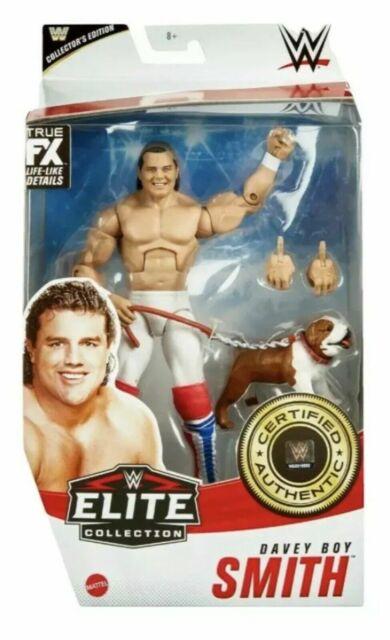 NEW WWE Mattel Elite Series 82 British Bulldog Davey Boy Smith Figure IN HAND
