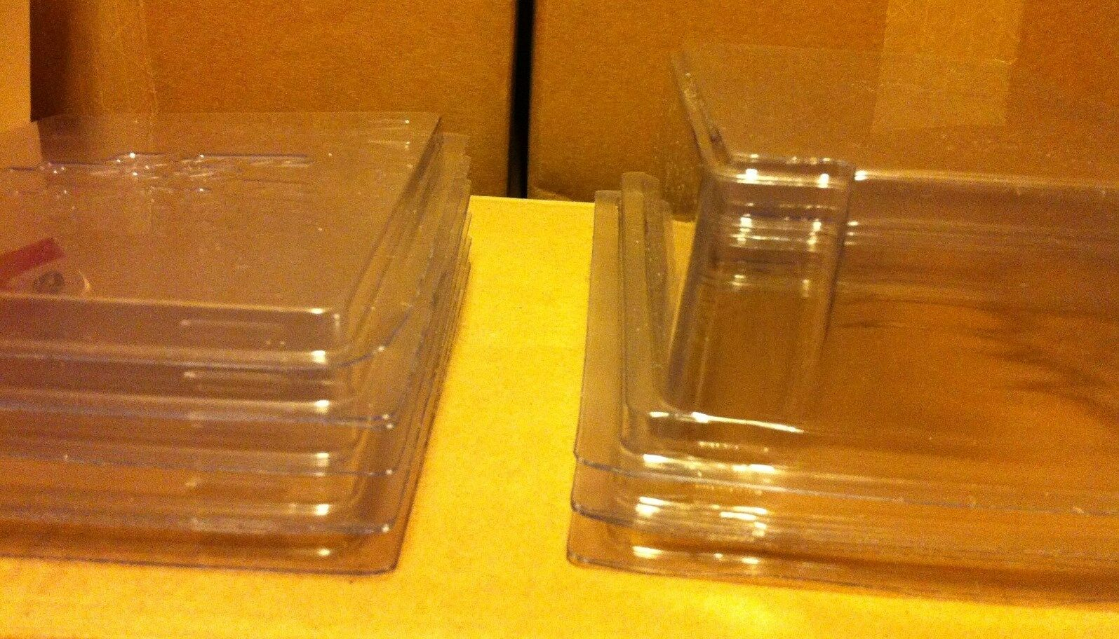 Lot of 25 Protech STAR CASE Display Cases - Vintage Star Wars GI Joe Marvel New