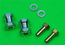 Aluminum17mm Wheel Extension For 1/10 Tamiya 12mm hex kyosho Crawler 4WD RC -S