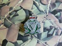 Royal Irish Regiment Enamel Lapel Badge