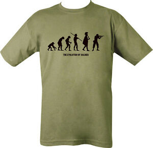 Military-EVOLVE-EVOLUTION-T-Shirt-Olive-Green-SAS-PARA