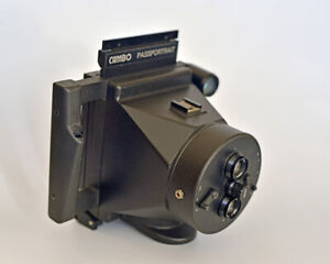 CAMBO-Stereo-Portrait-Model20-Polaroid-Instant-Camera-with-Cambo-Trimmer-Used