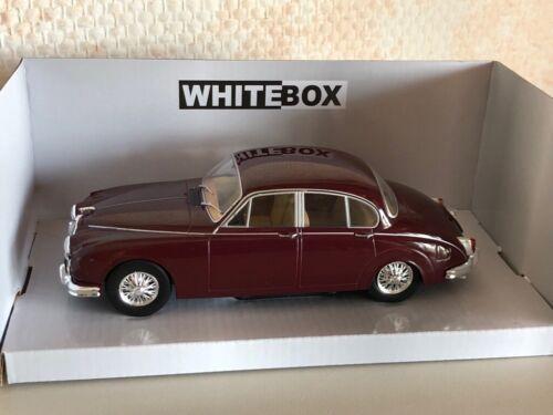 Jaguar MK II dkl.rot 1:24 Whitebox neu /& OVP 124029