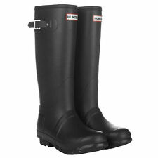 HUNTER ORIGINAL TALL BLACK WELLINGTON BOOTS SZ 6 BN BLACK WELLY