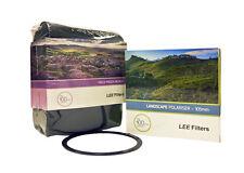 Lee Filters paisaje CIR-Pola 105mm + Bolsa De Campo Lee Negro + Lee 105mm delantero Anillo