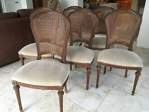 Astonishing Details About Set Of 6 Antique French Louis Xvi Style Dining Room Chairs With Cane Back Spiritservingveterans Wood Chair Design Ideas Spiritservingveteransorg