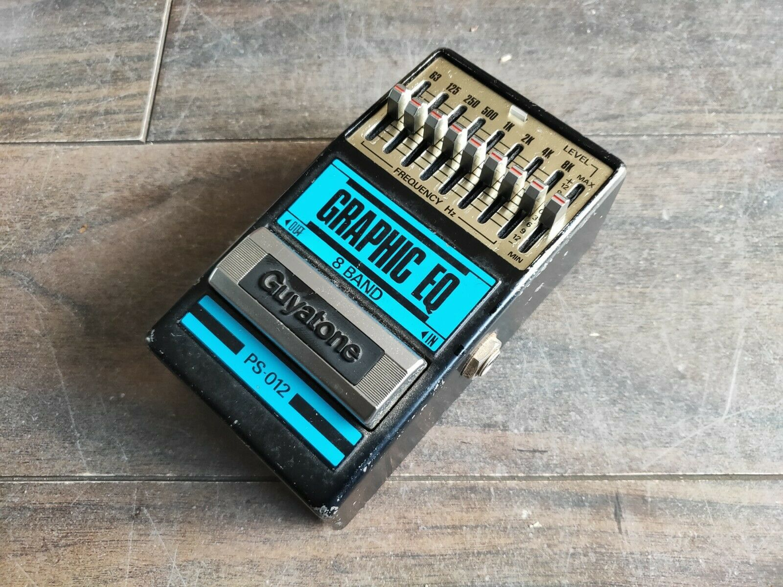 1983 Guyatone PS-012 Graphic EQ MIJ Japan Vintage Effects Pedal