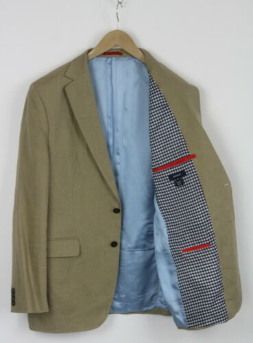 GANT Men's 102 or ~LARGE 100% Linen Stitched Hems