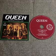 Queen  CD Single Card Sleeve  Crazy Little Thing Called Love / We Will Rock You