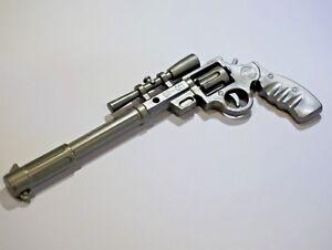 Details about Novelty Gun Shaped Pen Key Ring Pistol Gunmetal School  Stationery Gift - UK SOLD