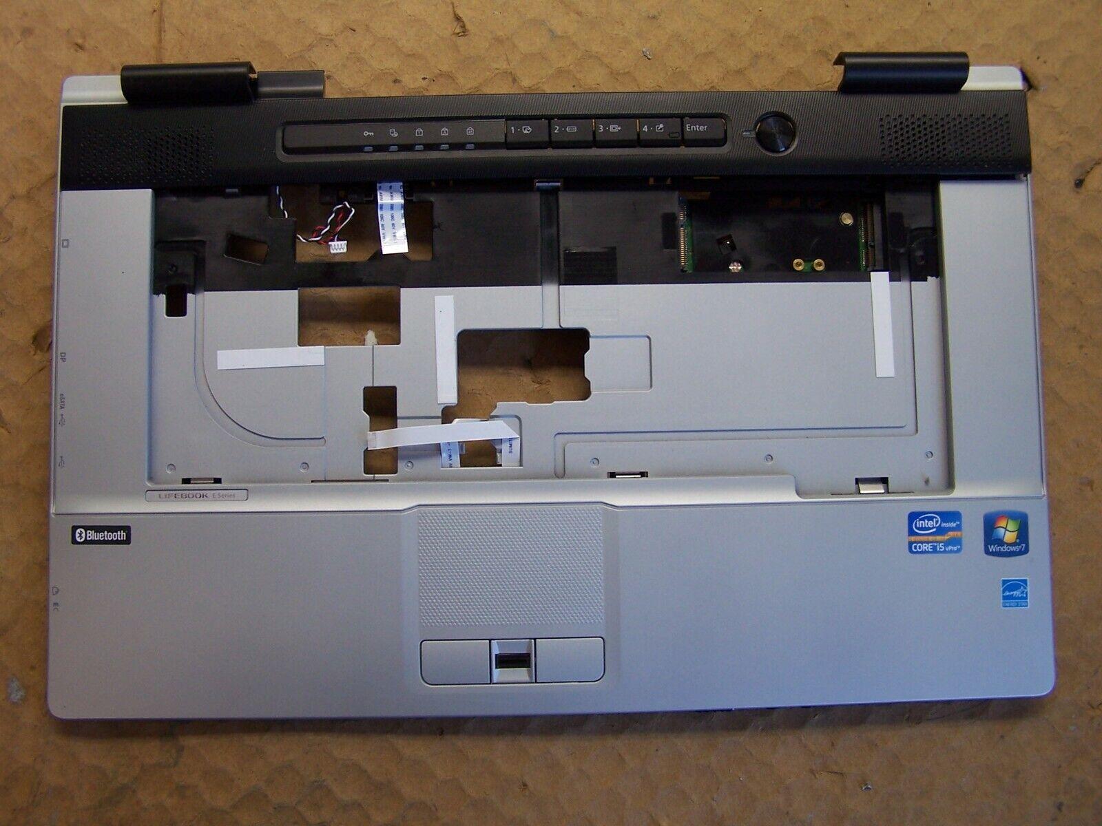 Fujitsu Lifebook E751 PALMREST HINGE COVER POWER JACK TOUCH PAD Laptop