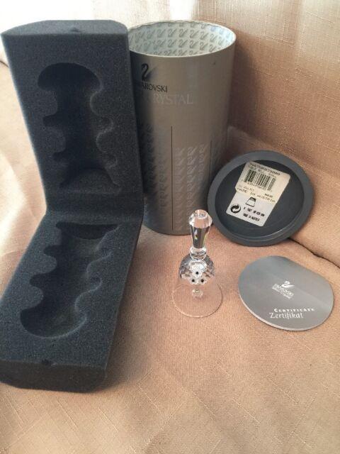 NIB - Swarovski Crystal - Small Dinner Bell - 7467 039000