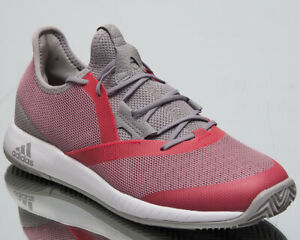Details about adidas adizero Defiant Bounce Women's New Light Granite Red  Tennis Shoes CG6351