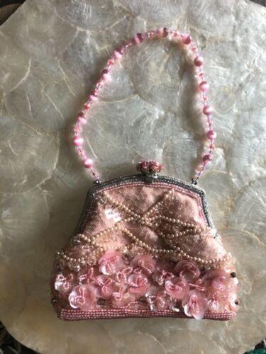 Barrera Pink Bag52 Larisa Sequin Cocktail SqzMVpUG