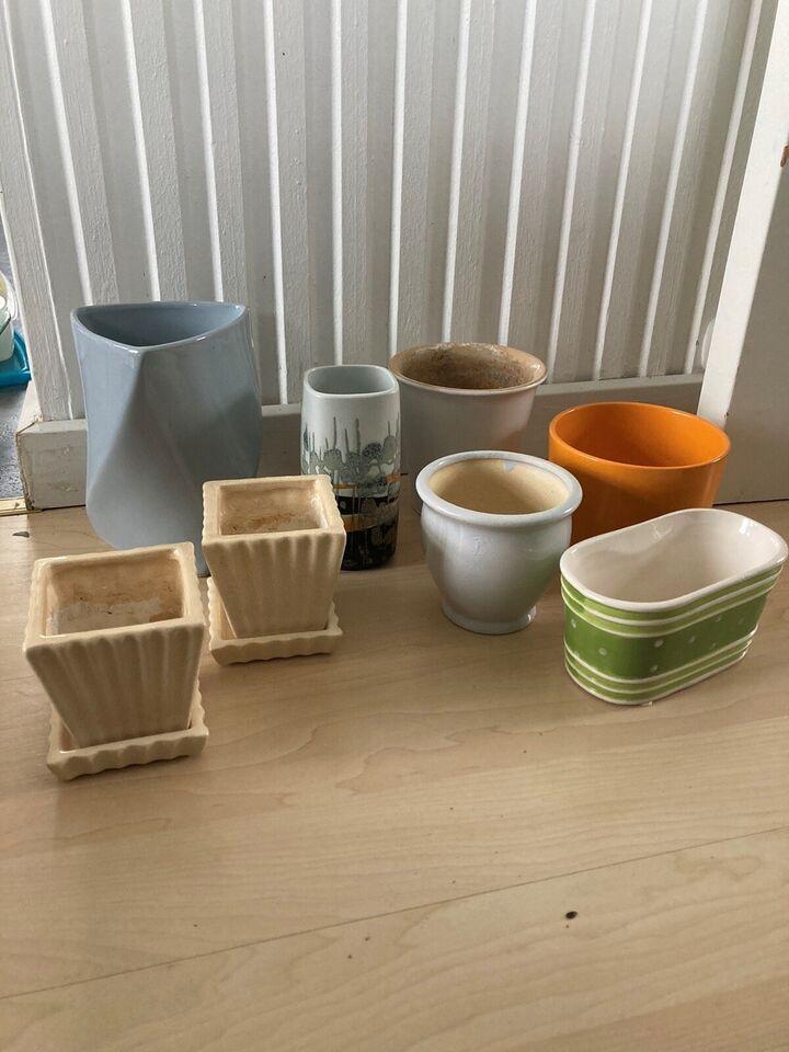 Porcelæn, Vaser