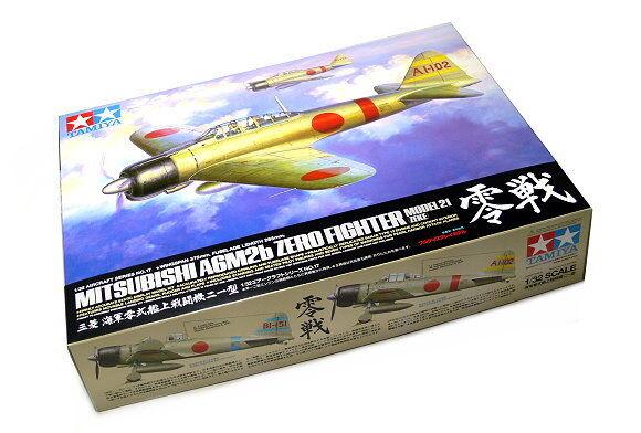 Tamiya Aircraft Model 1 32 Airplane Mitsubishi A6M2b Zero Fighter 21 Zeke 60317