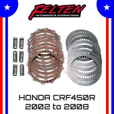 HONDA CRF450R 2002–2008 Clutch Kit w// Heavy Duty Springs