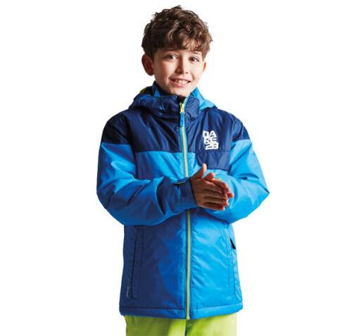 Dare2b Boys Kids Tyke Waterproof Breathable Ski Jacket Blue RRP £70