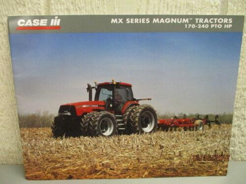 Case IH MX Magnum tractor original sales brochure #CIH4080302