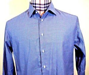 Armani-Collezioni-Mens-Blue-Striped-Cotton-Large-French-Cuff-Dress-Shirt-16