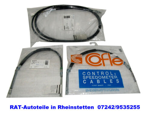 Mano BREMSSEILE Set destra, sinistra, centro Bosch macellaio-OPEL SINTRA 2.2 DTI