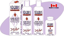 Segals Solutions 4-Step Hair Loss Control Program : Best Natural Remedy. Proven