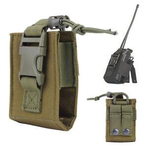 Bolsa-Radio-Molle-tactica-militar-MBITR-Walkie-Talkie-Holder-Bag-ejercito-verde