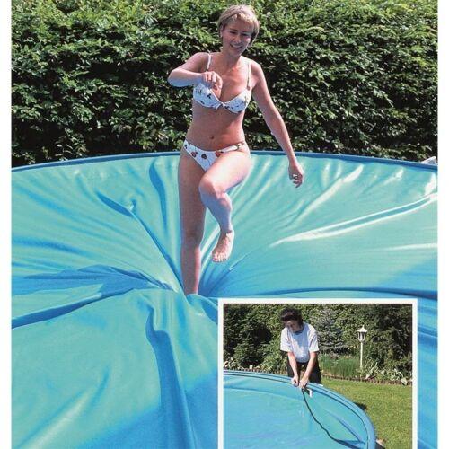 Sicherheitsabdeckung Ø 4,50m rund Pool Schwimmbecken Abdeckung Safe Top